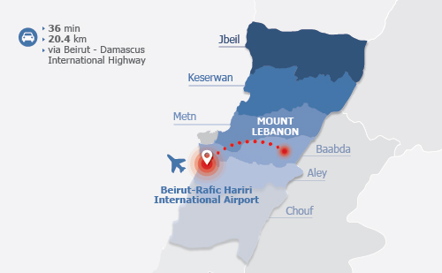 IDAL Lebanon at a Glance Invest in Regions Mount Lebanon